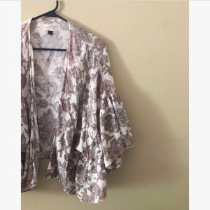 Universal Thread Paisley Kimono Cover Up Cardigan